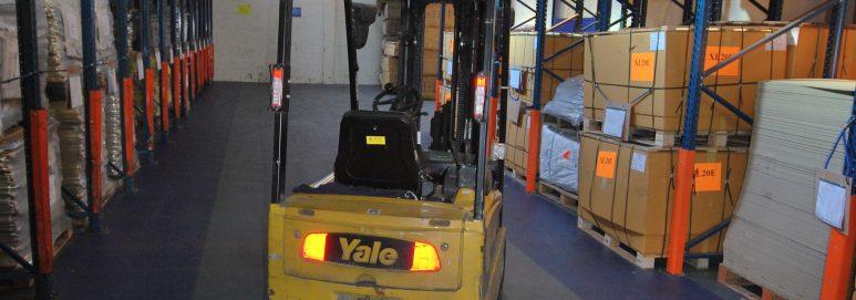 ecotile industrial flooring used by SG Baker Ltd